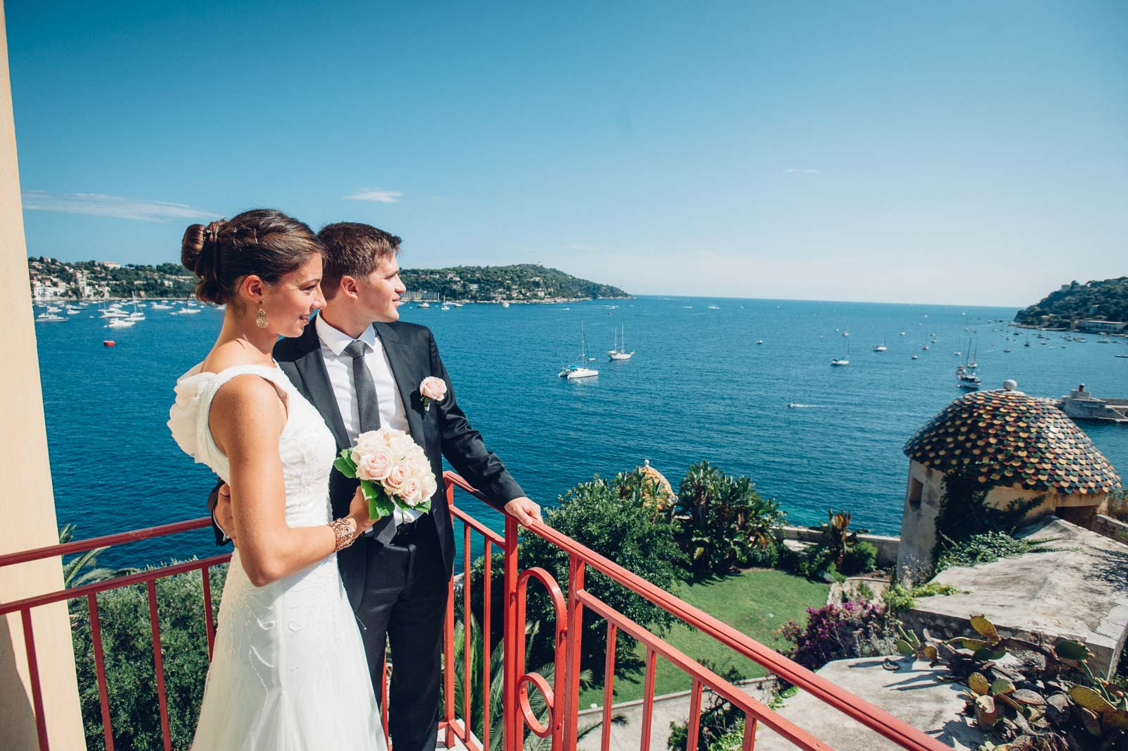 Villefranche-sur-Mer, Destination wedding, France